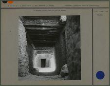 Un passage couvert dans le ksar d'Ouarda