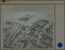 Vue partielle de la petite agglomération de Tamanrasset