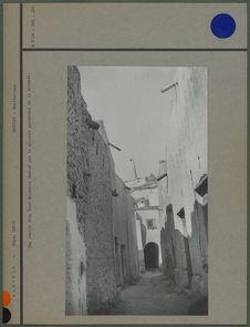 Une ruelle d'un ksar mozabite