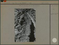 Aspect de canalisation dans une couche géologique