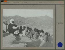 La classe en plein air de Djanet