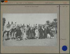 Un groupe de touareg Hoggar