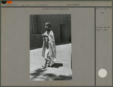 Un élève de l'école de Tamanrasset