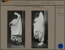 Technique de préparation du costume drapé