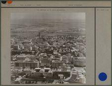 Vue aérienne de la ville européenne