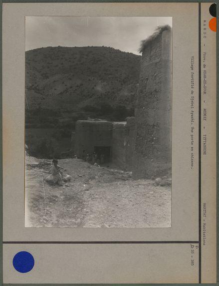Village fortifié du Djebel Ayachi
