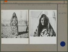 Femme maure ayant adopté un costume non traditionnel