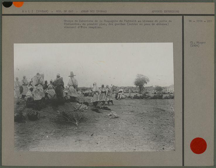 Groupe de sahariens de la Compagnie du Tidikelt