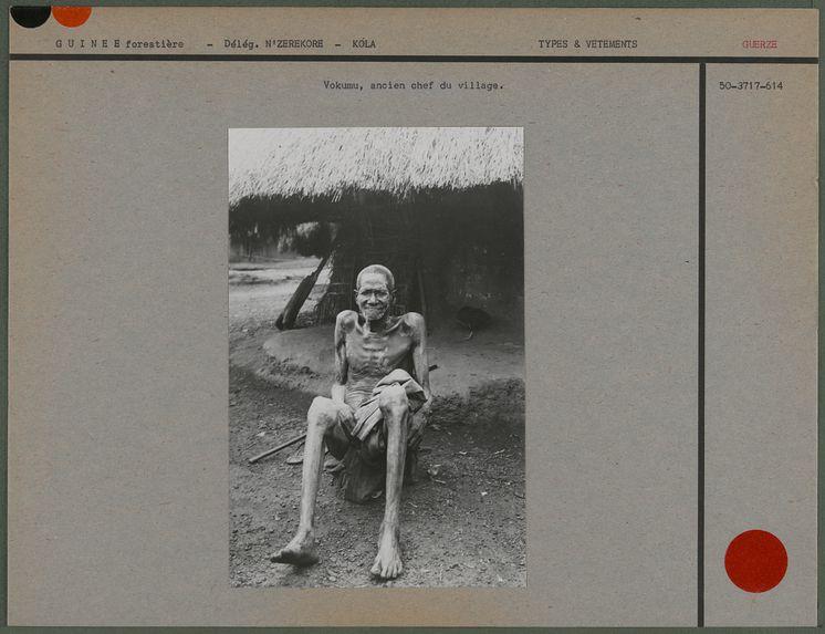 Vokumu, ancien chef du village