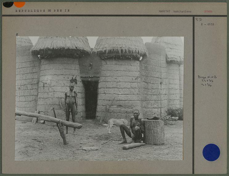 Case Somba et ses habitants