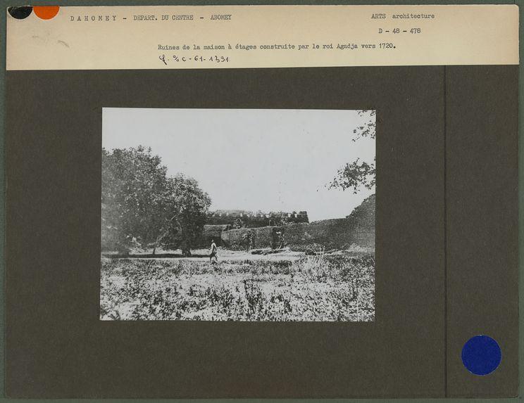 Ruines de remparts
