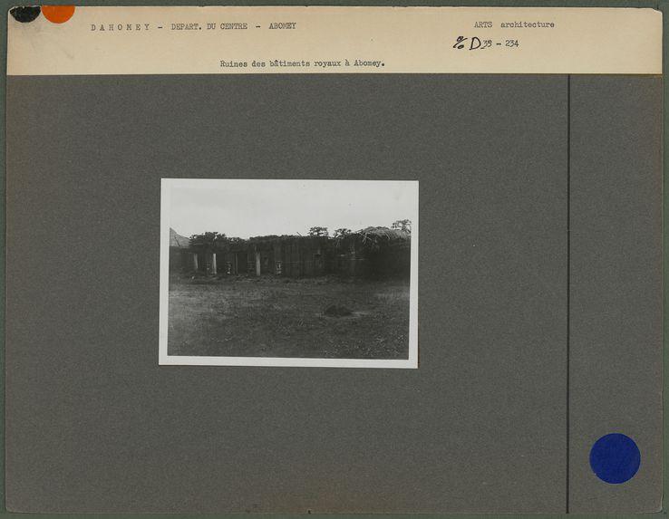 Ruines d'Abomey