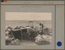 Campement de captifs venant chercher le sel
