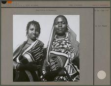 Femme Bantou et Mnyamwezi