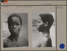 Femme Loango du village de Bayon