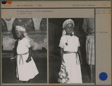 Une jeune adepte de la religion Angome-Ebogha