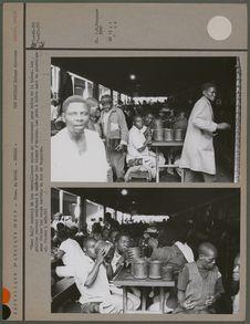 """""""Beer Hall"""", endroit où les travailleurs noirs se réunissent pour..."""
