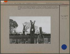 Cimetière en pays Sakalava-Vezo