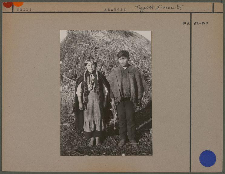 Jeunes mariés araucans