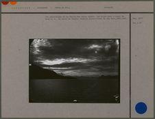 Vue panoramique de la chaîne des Monts Darwin