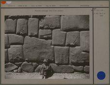 Muraille incasique (base d'une maison)