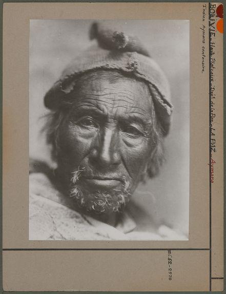 Indien Aymara centenaire
