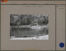 Deux barques sur le cours du riozinho