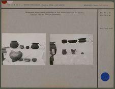 Céramiques trouvées lors des fouilles Hernandez