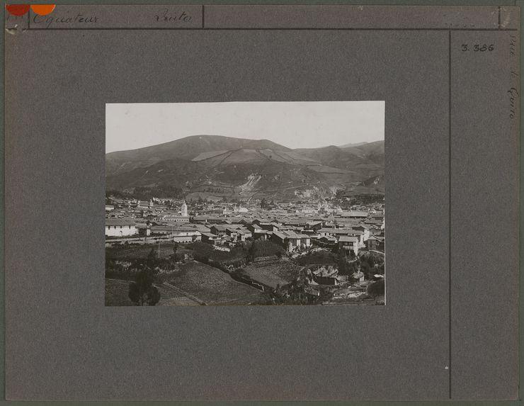 Vue de Quito