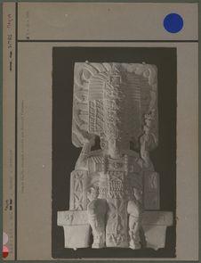 Maquette d'un panneau du temple n° 33
