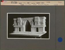 Maquette d'un temple