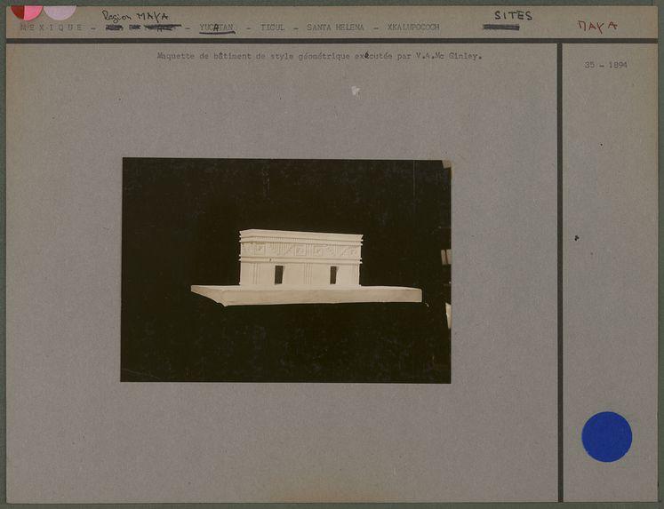 Maquette d'un bâtiment