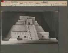 Maquette du temple des Magiciens