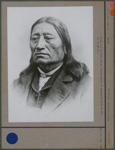Grand chef des Sioux brûlés