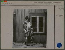 Le Prince Roland Bonaparte habillé en Lapon