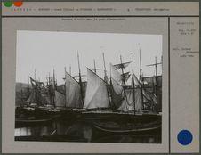 Bateaux  à voile dans le port d'Hammerfest