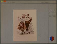 Couple de danseurs [costumes estoniens]