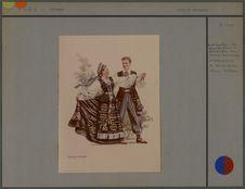 Couple de danseurs [costumes lithuaniens]