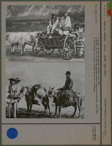 Un Juif et deux montagnards hutsuls vers 1900