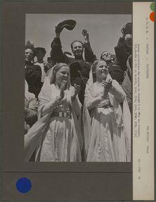 Danses pendant la fête du Caucase du Nord