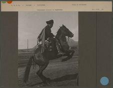 Commandant cosaque du Daghestan