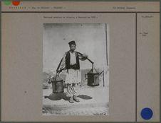 Marchand ambulant de pétrole, à Bucarest en 1900