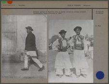 Costumes de paysans de Valachie, costume national