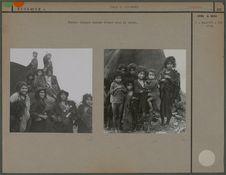 Enfants tziganes nomades
