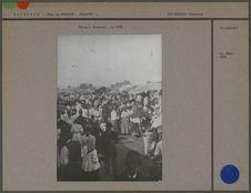 Foire à Bucarest en 1900
