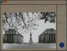 Palais de Chaillot, vue des deux ailes