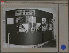Exposition des pétrolyphes amérindiens du Nouveau-Mexique (1955)