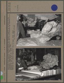 """Confection d'une maquette grandeur nature des """"Bisons d'argile"""" de la..."""