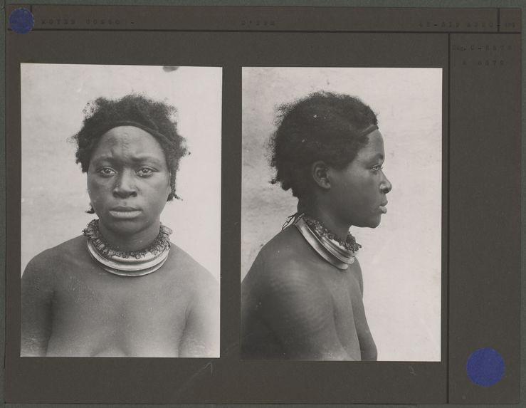 Femme Dzem [portrait de profil]