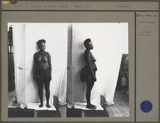 Femme andamanaise (face), Port-Blair, Bodjindji
